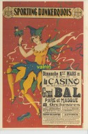 Malo Les Bains  Affiche Du Bal Masqué Du Sporting De 1931 - Dunkerque