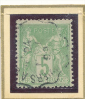 N°102 CACHET CONVOYEUR. - 1898-1900 Sage (Type III)