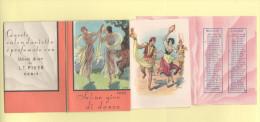 Calendarietto da Barbiere 1935 Profumi