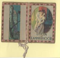 Calendarietto da Barbiere 1934 Lucia di Lammermoor