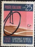 PIA  - ITALIA : 1968 : Campionati Del Mondo Di Ciclismo  - (Yv  858-59) - Ciclismo
