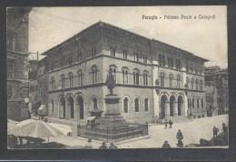 8897-PERUGIA-PALAZZO POSTE E TELEGRAFI-ANIMATA-1926-FP - Perugia