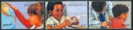 1996 Dominica UNICEF Infanzia Childood Enfance Set MNH** Car1