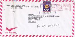 11830. Carta Aerea LIMA (Peru) 1996 A España - Peru