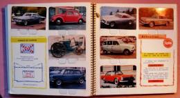 """ALBUM DE 100 IMAGES METALLIQUES """" L'AUTO A TRAVERS LES AGES """"-EDITIONS COOP-1964 - Old Paper"""