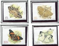 (cl 33 - P1) Portugal - Madère ** N° 194 à 197 - Papillons - 1910-... Republic