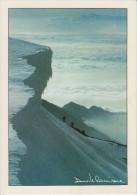 VALLE D´AOSTA-MONTE ROSA-SERACCHI AL COLLE FELIK-ALPINISTI-FOTOGRAFO DAVIDE CAMISASCA-GRESSONEY ST.JEAN 1985-FG-N - Italia