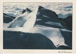 VALLE D´AOSTA-MONTE ROSA-CASTORE-ALPINISTI-FOTOGRAFO DAVIDE CAMISASCA-GRESSONEY ST.JEAN 1985-FG-N - Italia