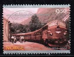 Norwegen 2004, Michel#  O  Eisenbahn - Gebraucht