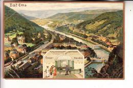 5427 BAD EMS, Emser-Kr�nchen, 1912, Feldpost