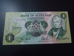 1988 BANK OF SCOTLAND RARE 1 POUND ( P 111 ) - AUNC - - Ecosse