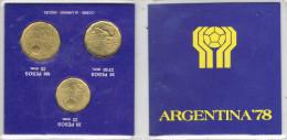 Cartera Monedas ARGENTINA 1978. Mundial Futbol 78 - Argentina