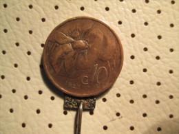 ITALY  10 Centesimi 1923      # 1 - 1861-1946 : Kingdom