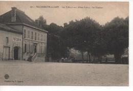 47  VILLENEUVE - Sur - LOT  -  Les Tilleuls Aux Allées Valmy - Le Cinéma - Villeneuve Sur Lot
