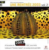 Les Inrockuptibles Une Rentrée 2003 Volume 2 - Hit-Compilations