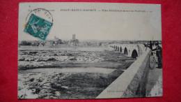 N12. Pont-saint-esprit , 30 . Vue Générale Avec Le Pont En ... Des Manques Haut Droit Et Angles Bas . - Pont-Saint-Esprit