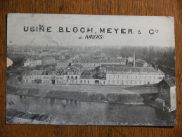 AMIENS (80) - Usine BLOCH-MEYER Et Cie - Amiens