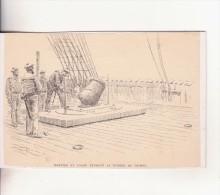 Affiche (dessin) -  mortier en usage pendant la guerre de crim�e