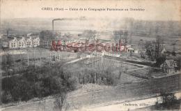 60 - CREIL - Usine De La Compagnie Parisienne Au Tremblay - 2 Scans - Creil