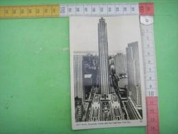 69)   New York : Rockefeller Center Building  : Recto Verso - New York City