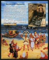 Peru (2014) - Block -  /  Heritage - Archeology - Archeologie - Arqueologia - Sacerdotisa - Chornancap - Archeologie