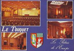 Le Touquet   H95            4 Vues  Le Palais De L'Europe - Le Touquet