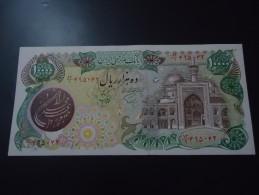 1981 IRAN ( OVER PRINT ) VERY RARE 10.000 RIALS ( P 131 )   - UNC - - Iran