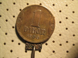 YUGOSLAVIA  1 Dinar 1938       # 1 - Yugoslavia