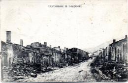 """Original Feldpost-Karte """"Dorfstrasse in Loupmont"""" K.D.Feldpoststation N� 85, 23/6"""