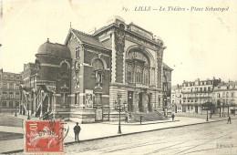 Lille Le Theatre Place Sebastopol - Lille