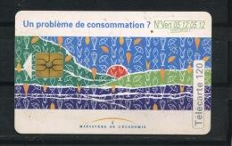 FRANCE -  PROBLÈME DE CONSOMMATION -  120 U  (USAGÉ) - 1994