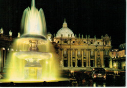CITTA´ DEL VATICANO    PIAZZA  S. PIETRO       (VIAGGIATA) - Vatican