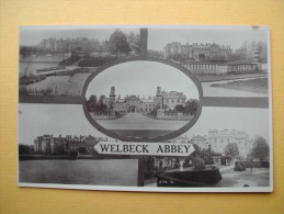 Welbeck. L'Abbaye. Multivues. - Angleterre