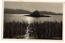 AM ZUGERSEE 1933 - VECCHIA CARTOLINA FORMATO PICCOLO - C464 - ZG Zoug