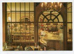 GERMANY  - AK 221822 Berlin - Teilansicht Cafe Mähring Am Charlottenburger Schloß - Charlottenburg