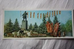 Russia. Rostov-na-Donu. Lenin Monument .  1970s Postcard - Monuments
