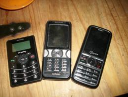 - Lot De 3 Téléphone Portable - Sony Ericsson K550 Im - Simvalley - S By SFR - - Téléphonie