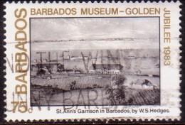 BARBADOS 1983 SG #740 75c VF Used Museum - Barbades (1966-...)