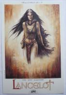 EX LIBRIS - Alexe Jacquemoire - LANCELOT - SOLEIL Collection ISTIN N°10 - Illustratoren A - C