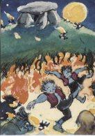 Boerns Vilkaar Postcard, Elverhoej, The Elf Mound, Tegnet Af, Drawn By Svend Otto S - Fairy Tales, Popular Stories & Legends