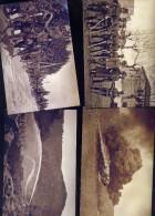 WW1-LOTTO 34 FOTO GUERRA 1915-18 FATTE DA NEGATIVO ORIGINALE - Reproductions