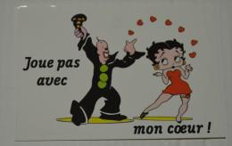 PORT GRATUIT, Betty Boop, Fleisher Studios, Editions Dalix, 1990, Carte N° 4 - Bandes Dessinées