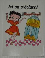 PORT GRATUIT, Betty Boop, Fleisher Studios, Editions Dalix, 1990, Carte N° 16 - Bandes Dessinées