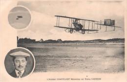 Aviation. - L´aviateur Chanteloup Mécanicien Sur Biplan Caudron. - Other