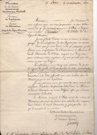 Document Historique  1831 Légion D´honneur Lettre 5 Rgt Infanterie Nancy Infanterie - Historical Documents
