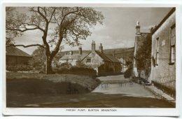 - ARISH PUMP - BURTON BRADSTOCK, Non écrite, Petit Format, Glacée, BE, Scans. - Angleterre