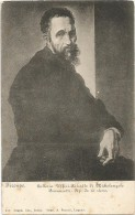 I2268 Firenze - Galleria Uffizi - Ritratto Di Michelangelo Buonarroti - Portrat Portrait / Non Viaggiata - Paintings