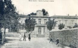 Bize - Mairie Et Groupe Scolaire - Bram