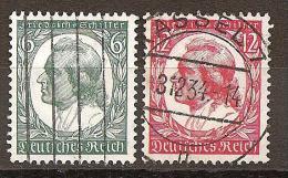 DR 1934 // Michel 554/555 O (4187) - Deutschland
