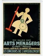 CPM / Reproduction Affiche / 7° Salon Des Arts Ménagers / 1930 / Grand Palais - Advertising